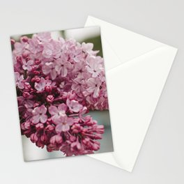 Spring Lilacs Stationery Cards