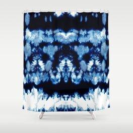 Tie-Dye Shibori Neue Shower Curtain