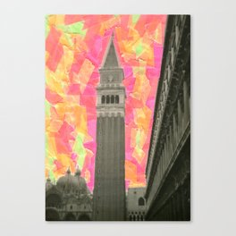 Venecia Como Llegar - Venezia Canvas Print