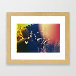 Live Out Loud Framed Art Print
