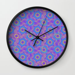 Psychedelic 1 Wall Clock
