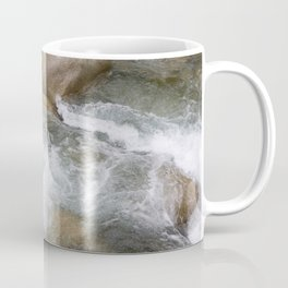 River in Japan - Stones in Water - Rocks in Wild Water - Wall Art Photography Coffee Mug