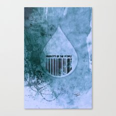 Water, Property of the People 1 Canvas Print