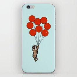 I Believe I Can Fly English Bulldog iPhone Skin