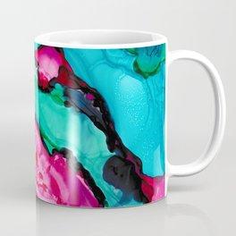 Magenta Geode Coffee Mug
