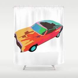 The Cyclone Shower Curtain