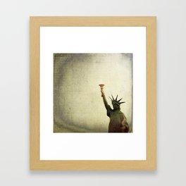 Understanding Liberty  Framed Art Print