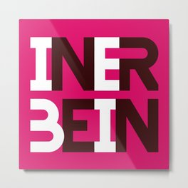 iner bein [ know your blend ] Metal Print