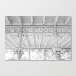 An Afternoon in Central Park Canvas Print