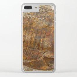 Trilobite fossil Clear iPhone Case