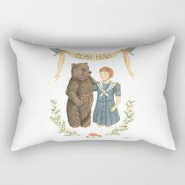 Bear Hugs Rectangular Pillow