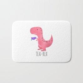 Tea-Rex | Pink Bath Mat