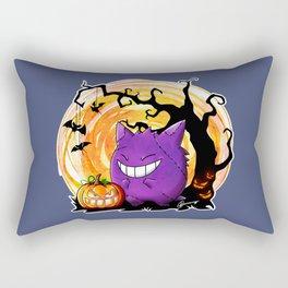 Happy Halloween Gengar Rectangular Pillow