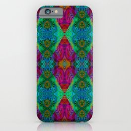 Varietile 50 (Pyramitiles 2 & 5 Repeating) iPhone Case
