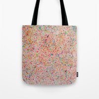 sprinkles Tote Bags featuring Sprinkles by Candy Circles