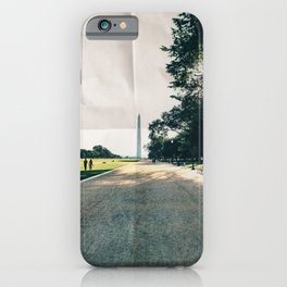 Washington DC Paper iPhone Case