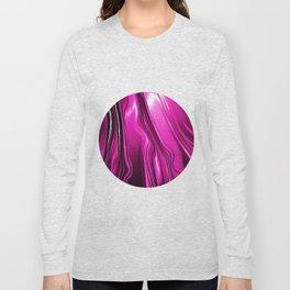 Streaming Pink Long Sleeve T-shirt