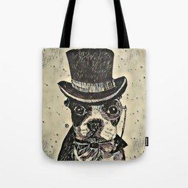 Aristocratic dog Tote Bag