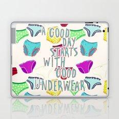 Underwear Happiness Laptop & iPad Skin