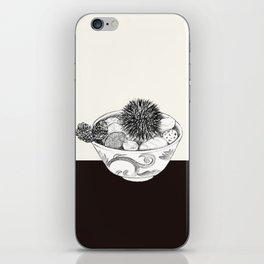 Chestnut Burr & Pottery iPhone Skin