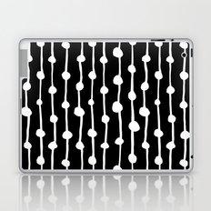 White & Black Laptop & iPad Skin