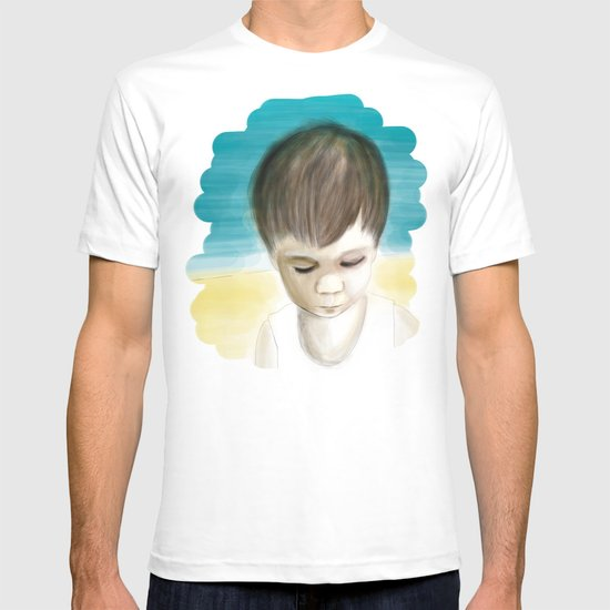 Alone on the sand T-shirt