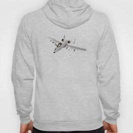 American A-10 Warthog Jet Aircraft Hoody