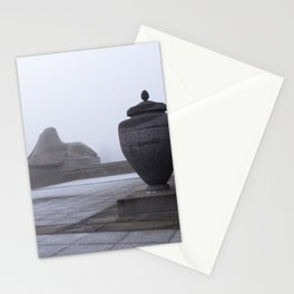 Sphinx in Fog Stationery Cards