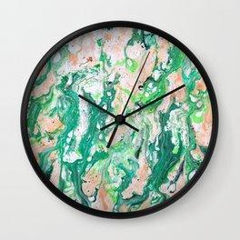Moss Agate  Wall Clock