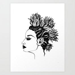 TheQueenofBurdock Art Print