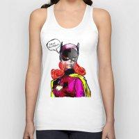 batgirl Tank Tops featuring Batgirl by Ed Pires