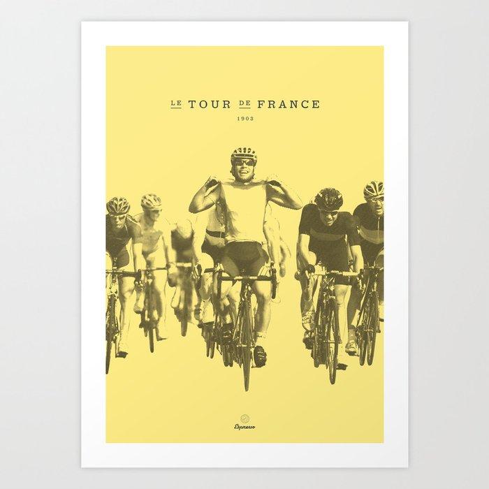 Tour de France Kunstdrucke