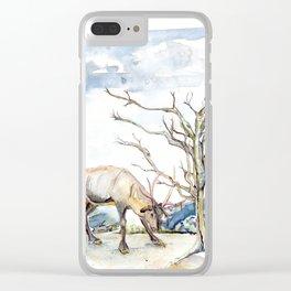 Rut Clear iPhone Case