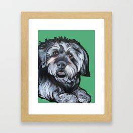 Biscuit Framed Art Print