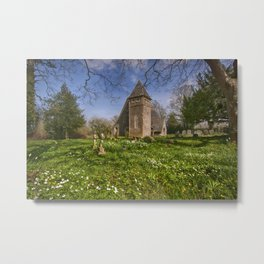 St James Bicknor Metal Print