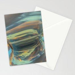 Sunrise Tornado: digital abstraction Stationery Cards
