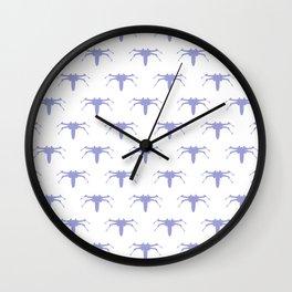 X wing fighter rebels pattern Wall Clock