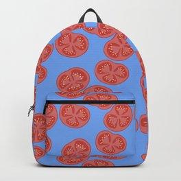 Tomato slices - food illustration Backpack