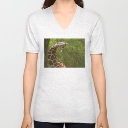 C Giraffe Unisex V-Neck