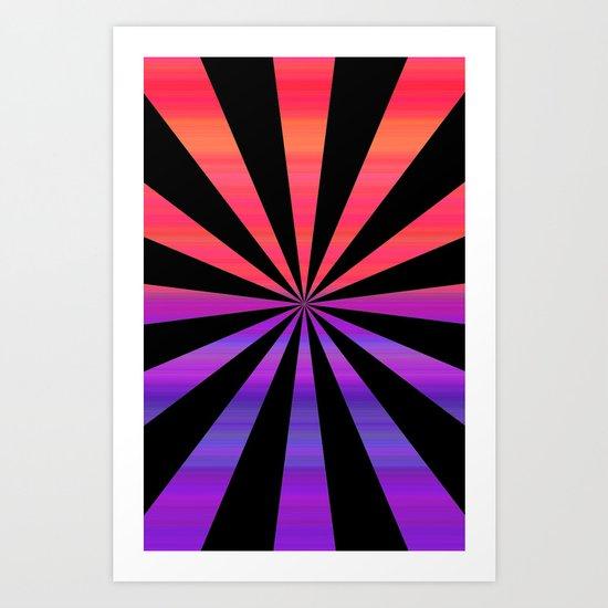 Timewarp Art Print
