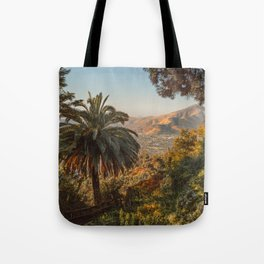 Santiago Chile from San Cristóbal Hill Tote Bag