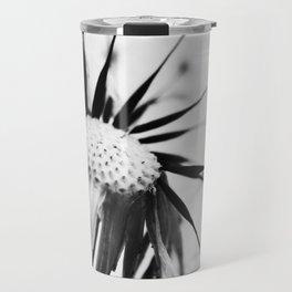 Dandelion BW Travel Mug