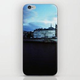 Paris at Dusk: Ile de la Cite iPhone Skin
