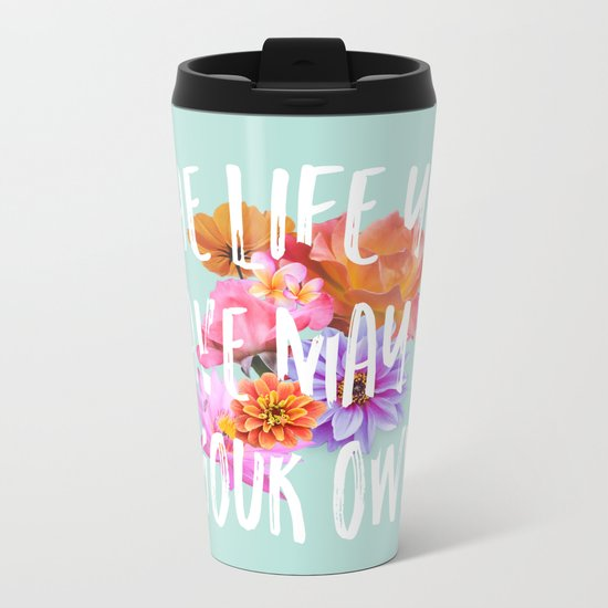 TLYS Mint Metal Travel Mug