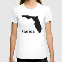 florida T-shirts featuring Florida by Fabian Bross