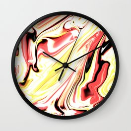 Liquefied Flame Wall Clock