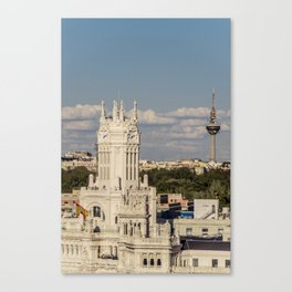 A window to Madrid Canvas Print