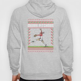 Softball Pitcher Ugly Christmas Sweater Holiday T-Shirt Hoody