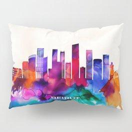 Beirut Skyline Pillow Sham