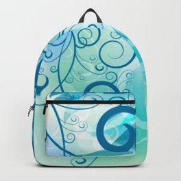 Remolino floral Backpack